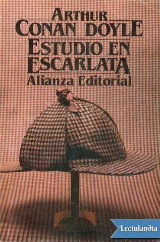 Estudio En Escarlata Escarlata Estudio Libros