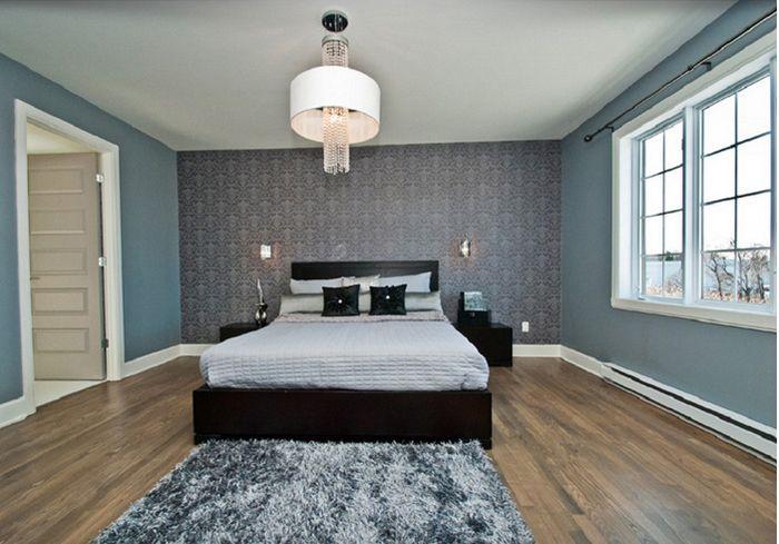 Chambre à coucher de notre modèle Newport, telle que vue dans notre