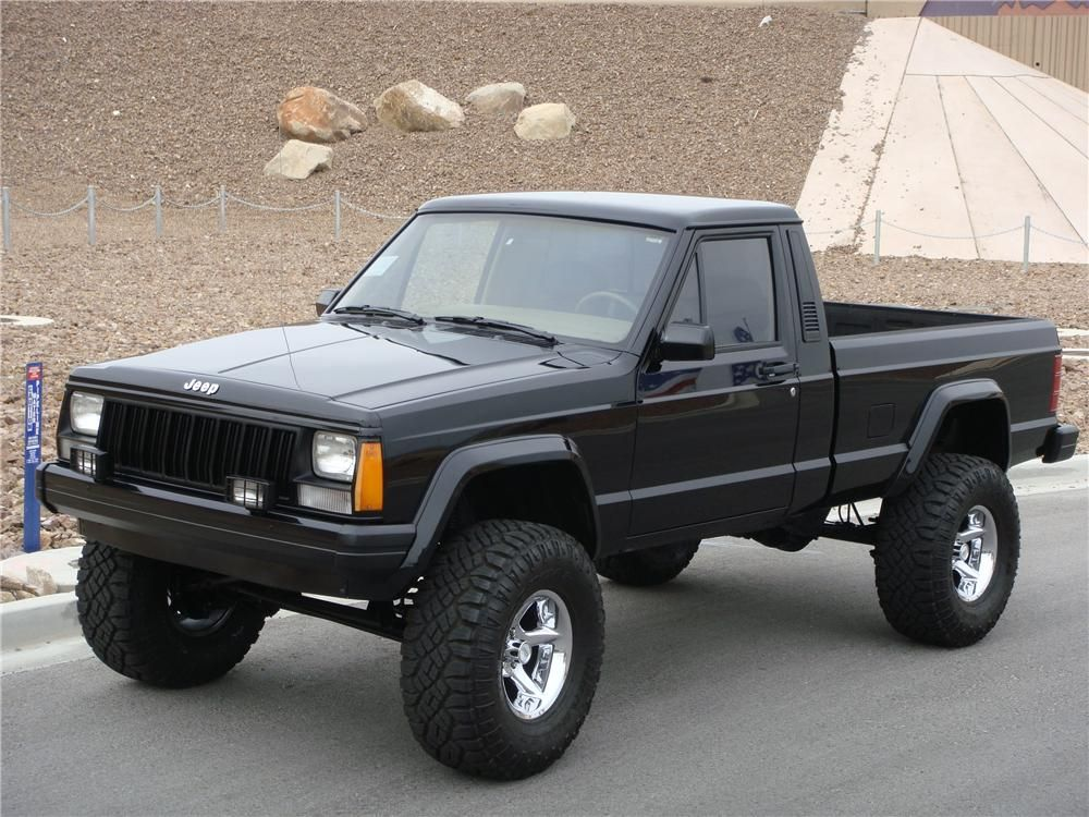 Custom 1990 Jeep Comanche