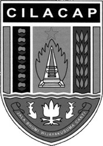Logo Kabupaten Cilacap : kabupaten, cilacap, Cilacap, Hitam, Putih