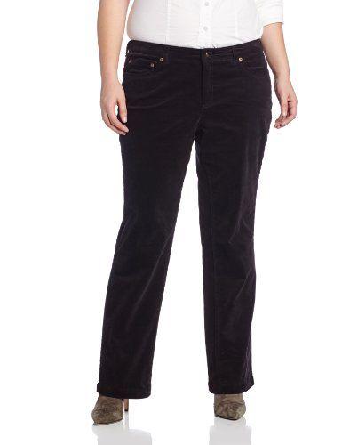 Fashion Bug Womens Plus Size Lean Bootcut Pant. www.fashionbug.us #curvy #fullfigured #plussize