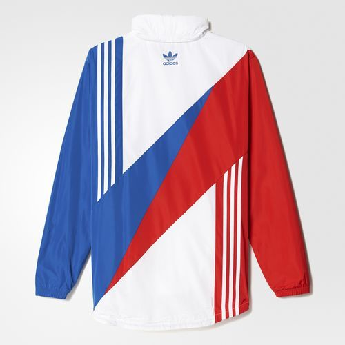 adidas retro linear windbreaker stile ropa deportiva. Black Bedroom Furniture Sets. Home Design Ideas