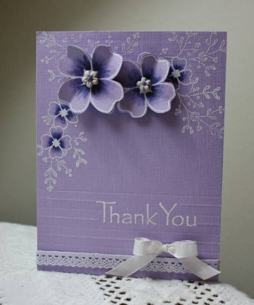 Pin By Carol Feige On Cards Monochromatic Cards Handmade Flower Cards Greeting Cards Handmade