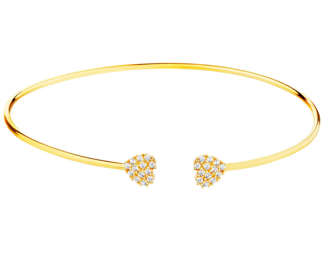 Zlota Bransoletka Wzor Ap127 9257 Apart Jewelry Gold Bracelet Bracelets