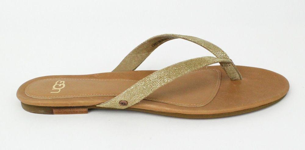 65e36375184273 UGG Australia Women s Allaria II Metallic Chestnut Gold Coast Sandals  1007525  UGGAustralia  FlipFlops