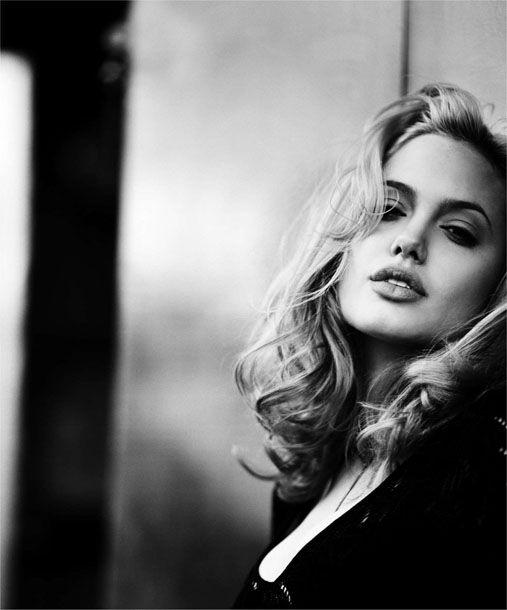 Angelina by Max Vadukul