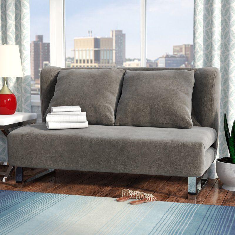 Sarah Sleeper Sofa In 2019 Sleeper Sofa Contemporary Sleeper