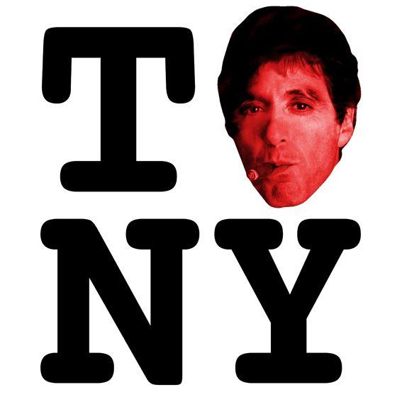 Tony Montana Celluloid Heroes Villains Pinterest Movie Tv