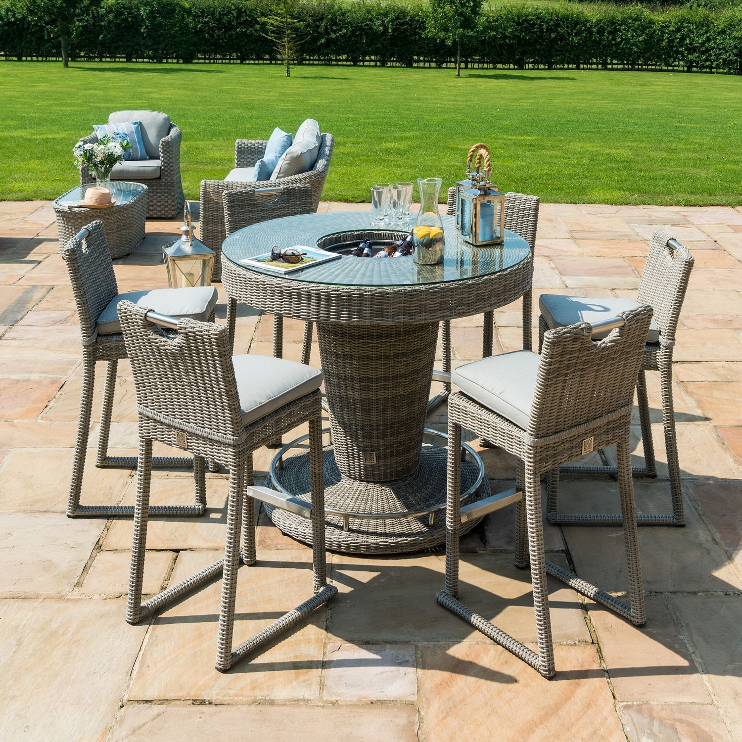 Pin On Rattan Garden Furniture