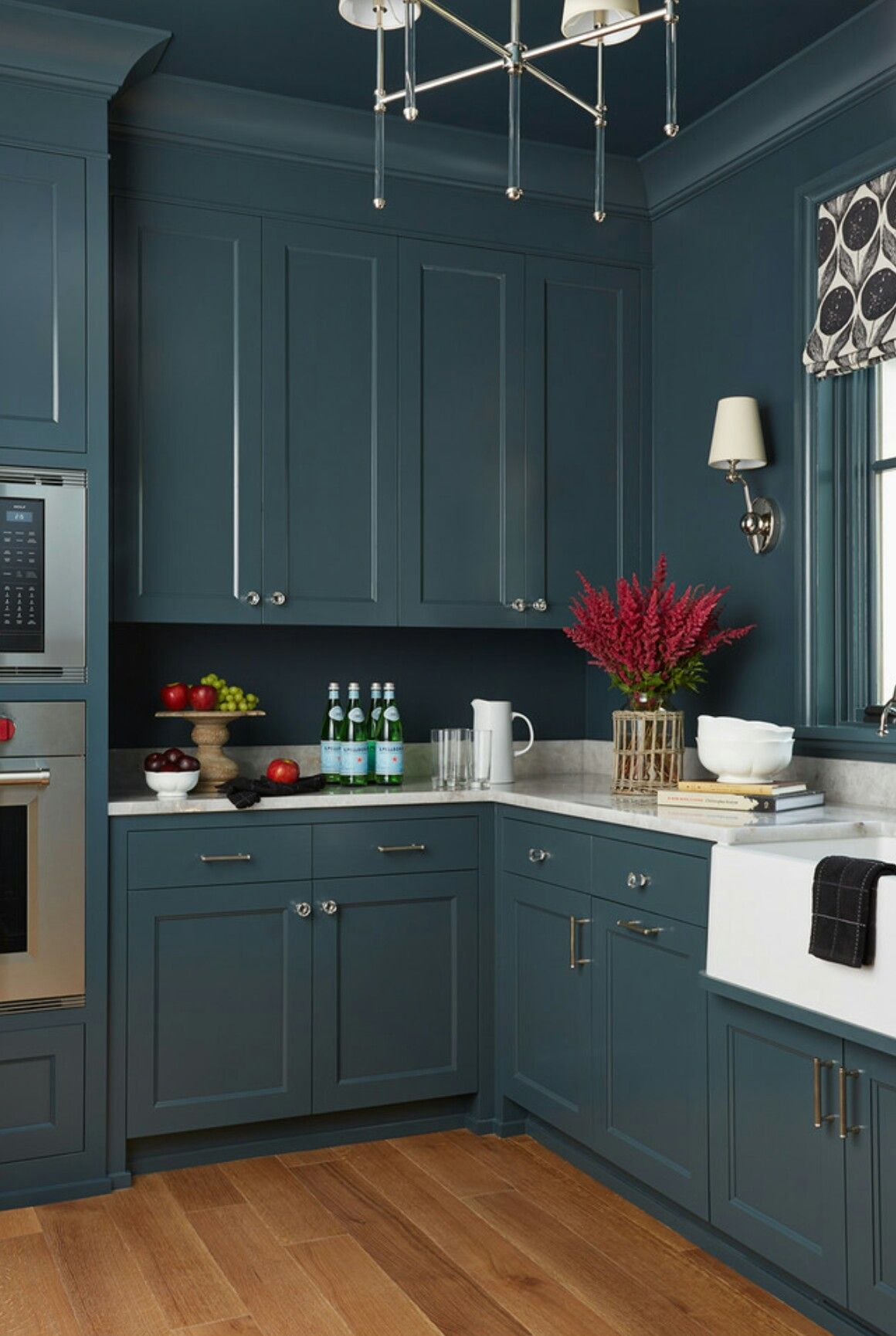 Pin by Gerne Vos on kitchen cupboards | Teal kitchen, New ...