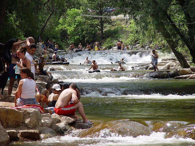 Tubing On Boulder Creek | Traveling | Bouldering, Colorado