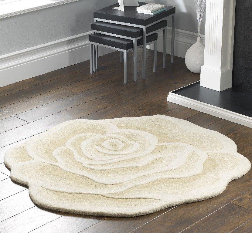 Rose Shape Ivory Image 1
