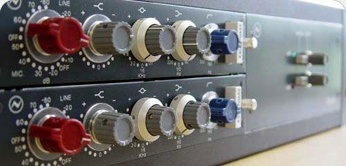 Neve 1073   Mic Pre's   Recording studio, Studio