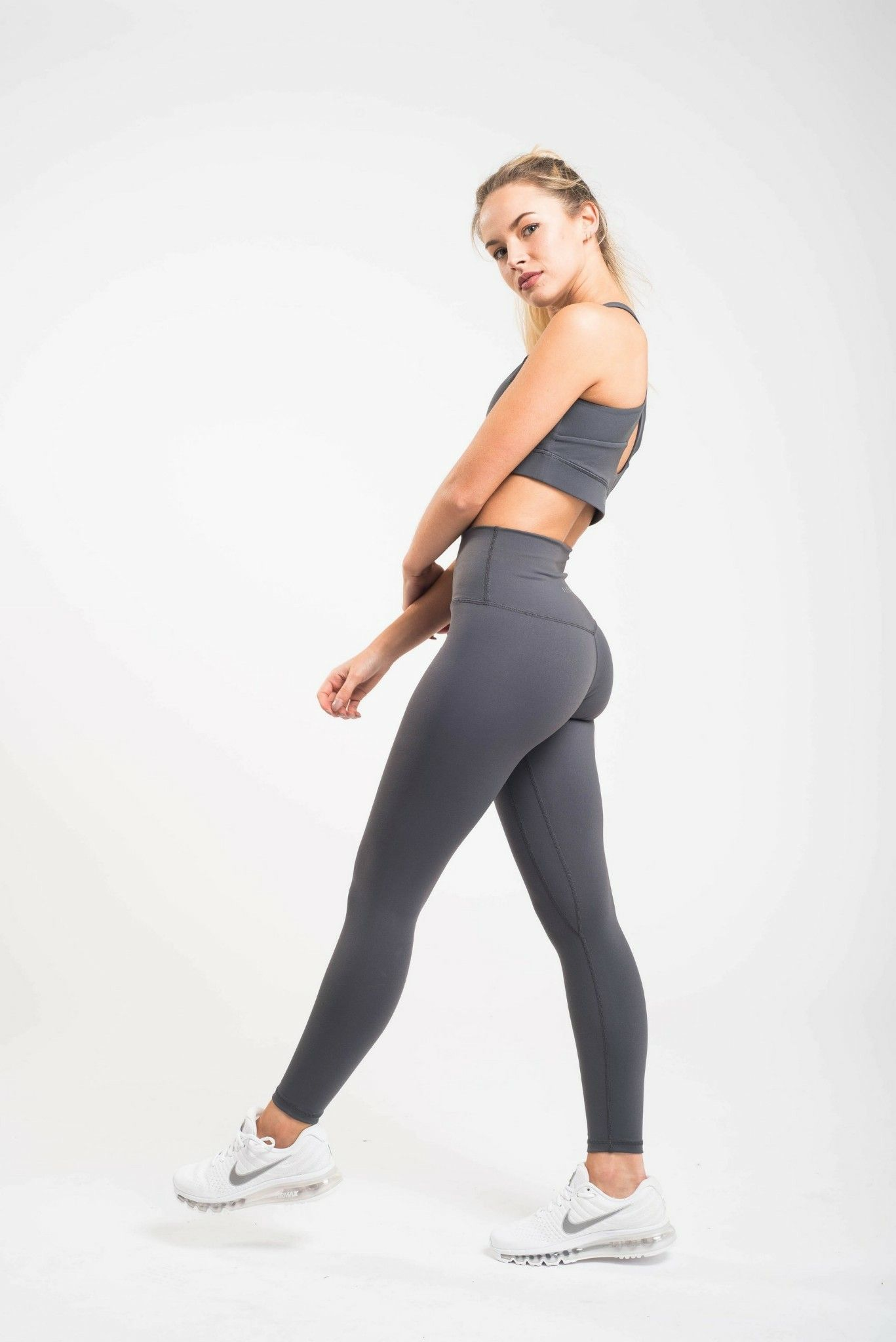 5b5e2cb1e3 Luxe leggings steel grey $42 flexxfit | Fitness Shop | Leggings ...