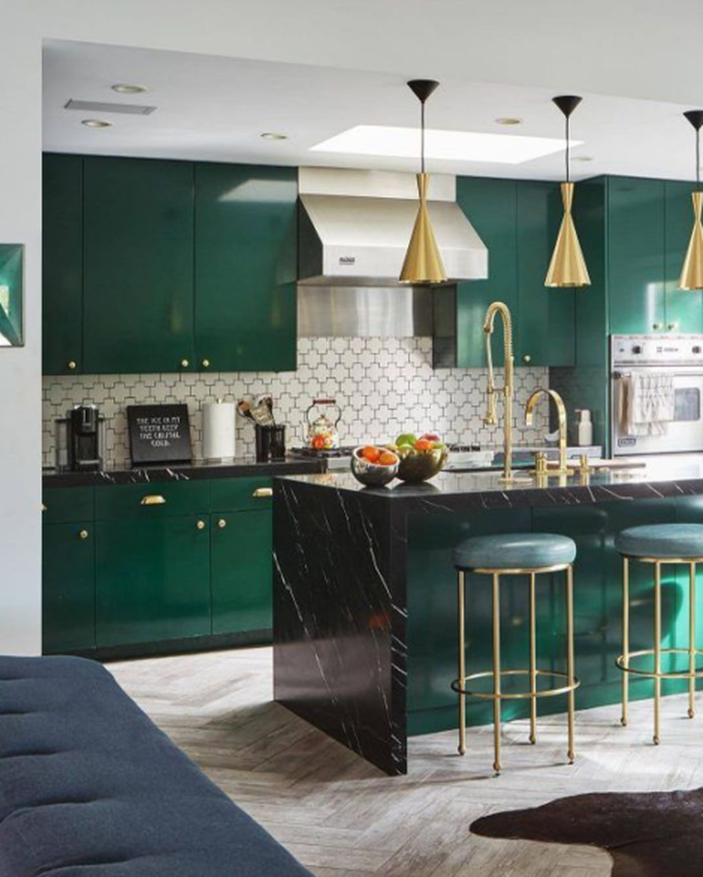 47 beautiful and cozy green kitchen ideas in 2020 with on the most beautiful kitchens ever id=16665