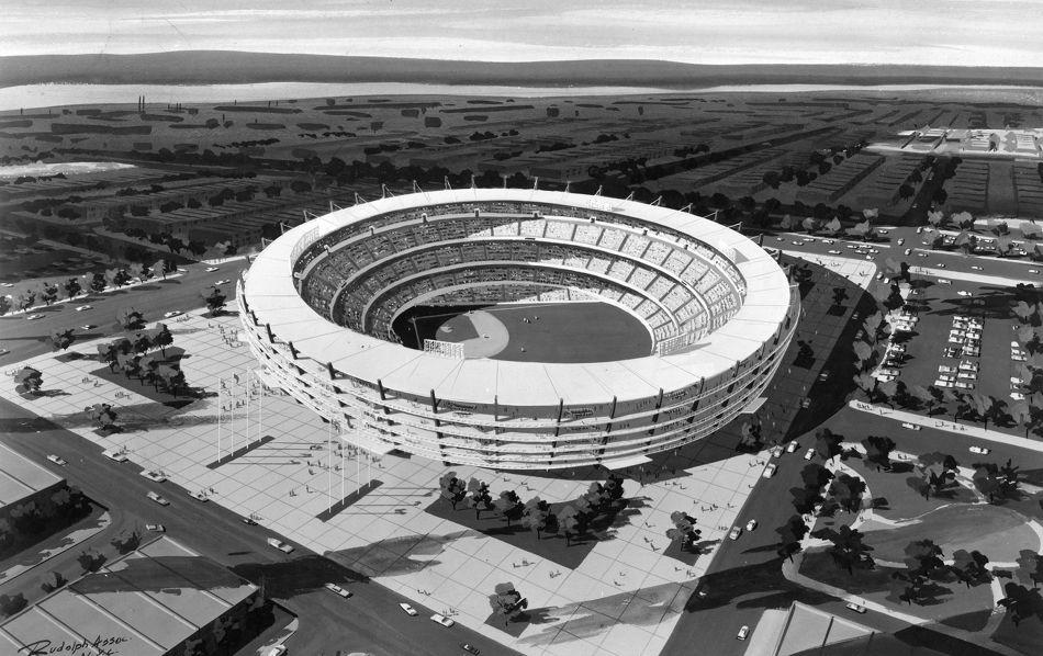StadiumPage.com - 1962 Philadelphia Stadium Concept