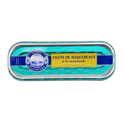 Filets de maquereaux à la moutarde - La Compagnie Bretonne du Poisson - Etre Gourmand