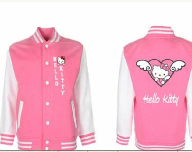 669614bd8 Hello Kitty letterman jacket | Hello Kitty | Hello kitty clothes ...
