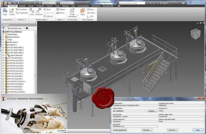 Design with Autodesk Inventor Professional 2014 Service Pack 1