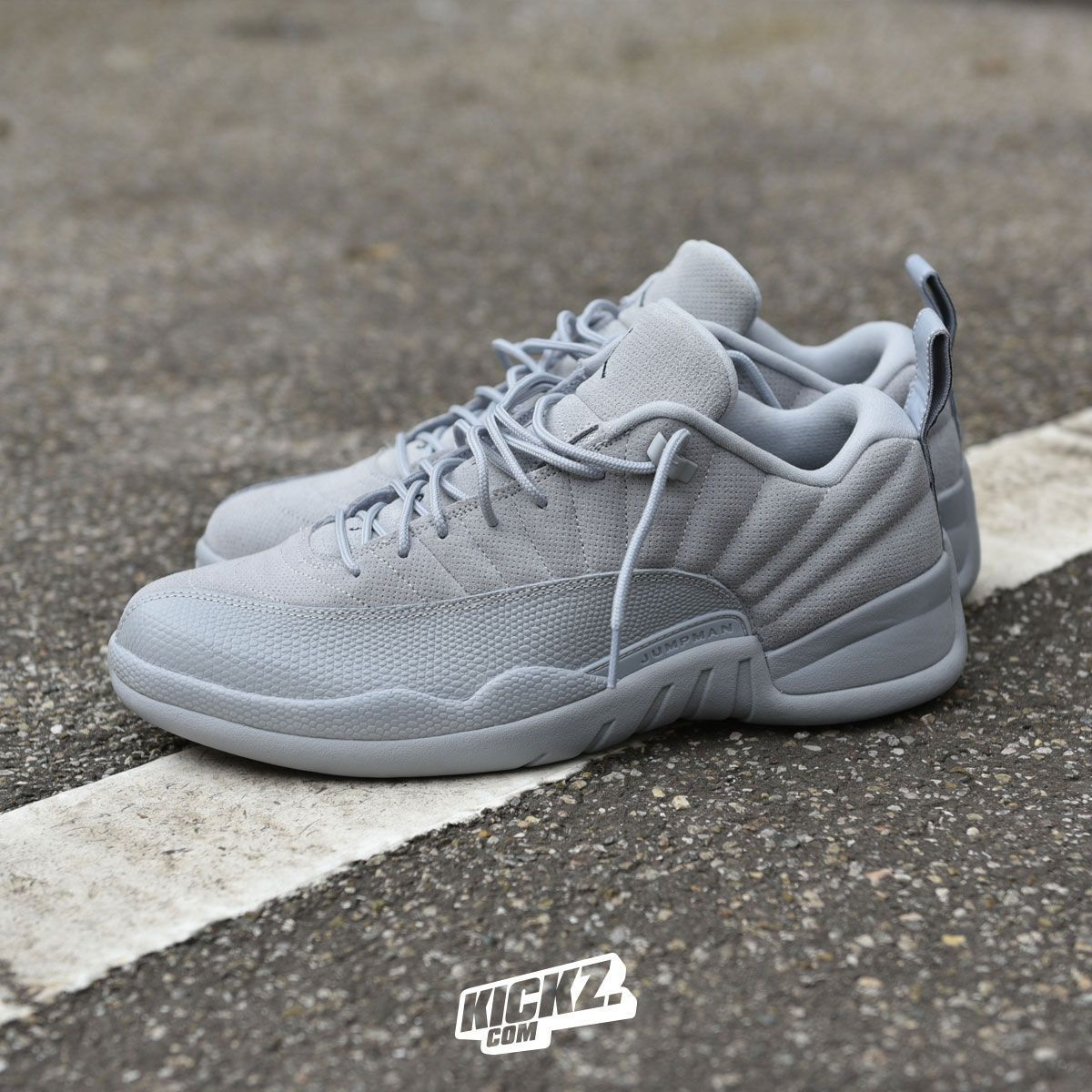 outlet store 62435 742eb Air Jordan 12 Retro Low (wolf grey). Gettin low low low low ...