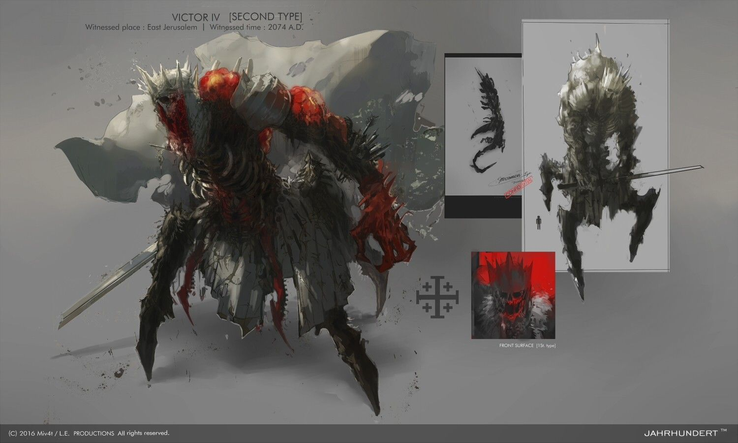 ArtStation - POST MODERN KNIGHT 2 : DOUBLE GATE, M4 M4