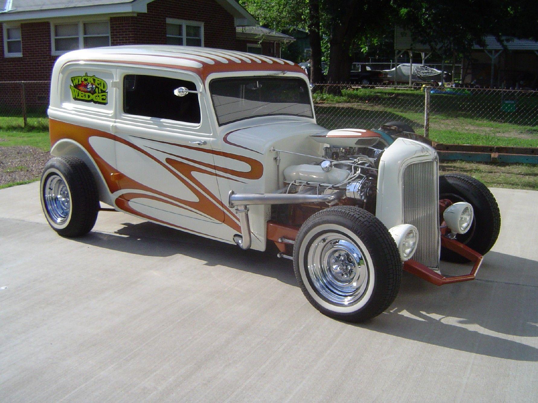 Motor\'n New   For sale 1934 Custom Plymouth Hi-Boy Sedan Street Rod ...
