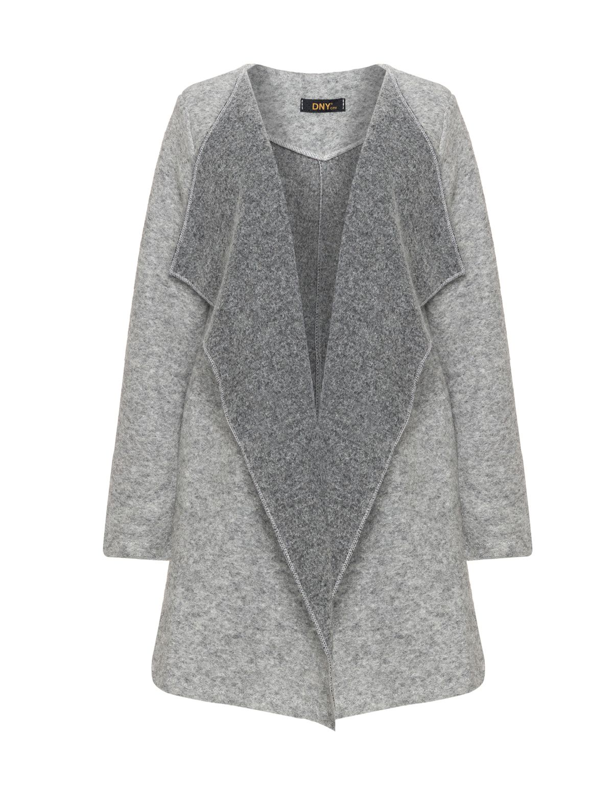 DNY Wool waterfall jacket in Light-Grey | Женская мода | Pinterest ...