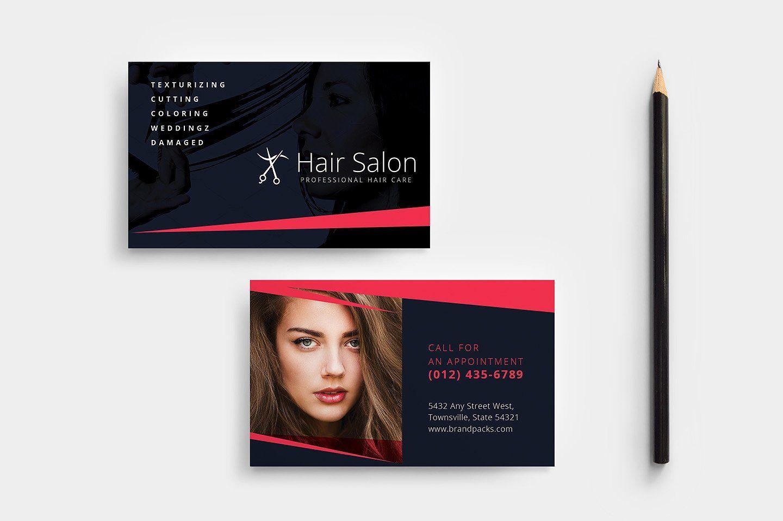 Hair Salon Templates Pack Hairdresser Business Cards Hairstylist Business Cards Stylist Business Cards