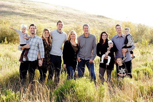 Family Portrait Idea...gray black and denim | Large ...