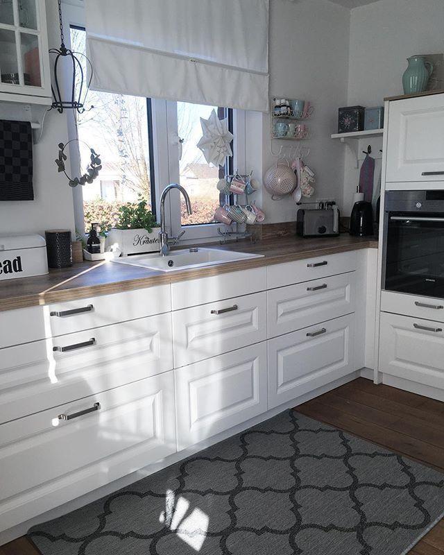 Küchentraum - 10 Fakten über meine Küche im modernen Landhausstil Weiterlesen .... - Ideen fü...