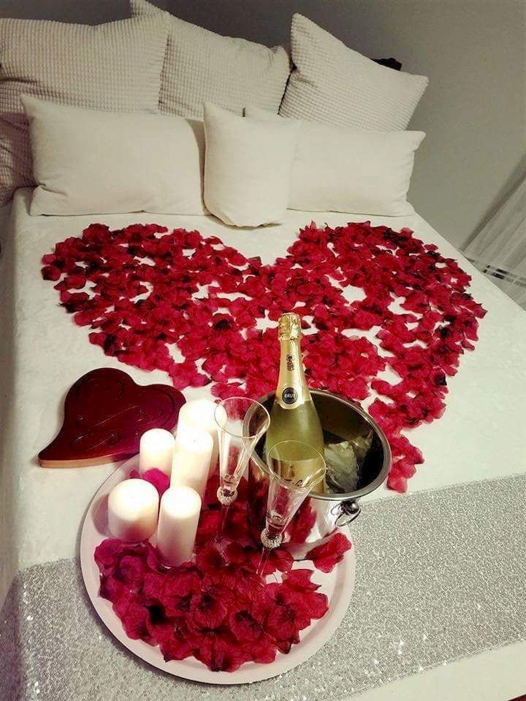 Romantic Bedroom Ideas For Wonderful Valentine Moments Romantic Room Surprise Romantic Room Decoration Valentine Bedroom Decor Beautiful romantic bedroom ideas