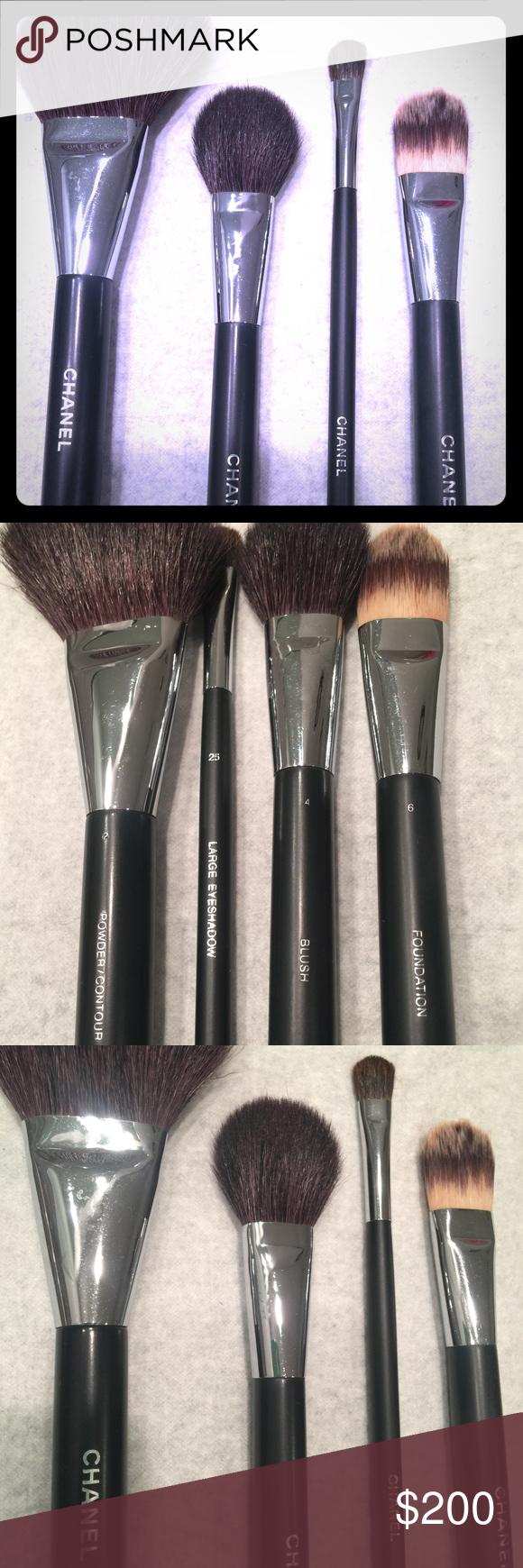 CHANEL Make Up Brush Set Complete makeup, Makeup brushes