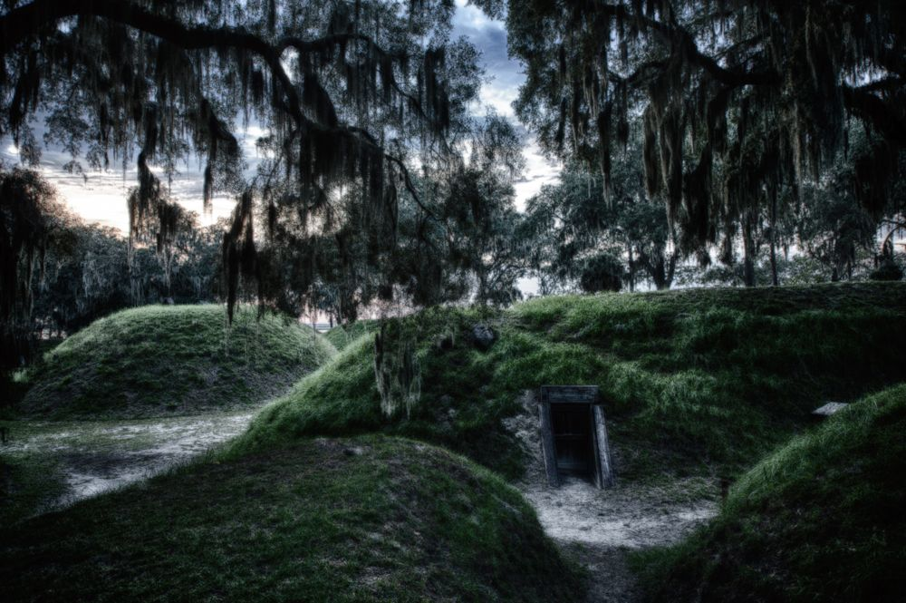 Haunted Fort Mcallister Savannah Georgia Haunted Spooky Places