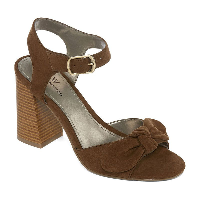 400d1be49671 Worthington Bracken Womens Cone Heeled Sandals