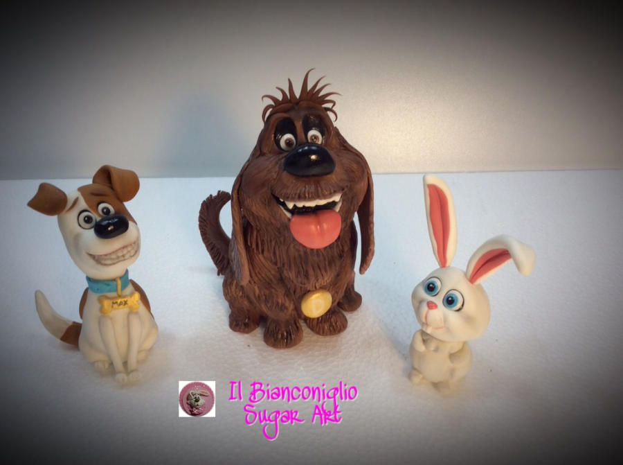 Sweet Max And Friends From The Secret Life Of Pets Cake By Carla Poggianti Il Bianconiglio Secret Life Pets Secret Life Of Pets