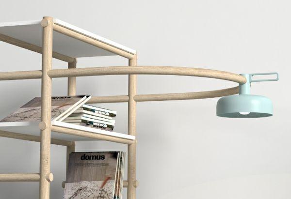designer möbel Burak Kocak wohnzimmer sofa mit lampe Möbel - lampen fürs wohnzimmer