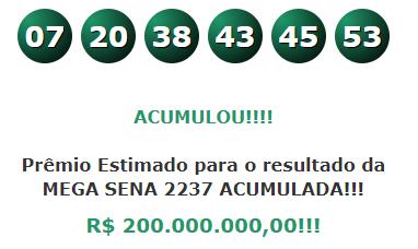 Mega Sena 2236 Resultado Megasena Numeros Concurso 2 236 Resultado Da Mega Sena Mega Sena Numeros Da Mega Sena