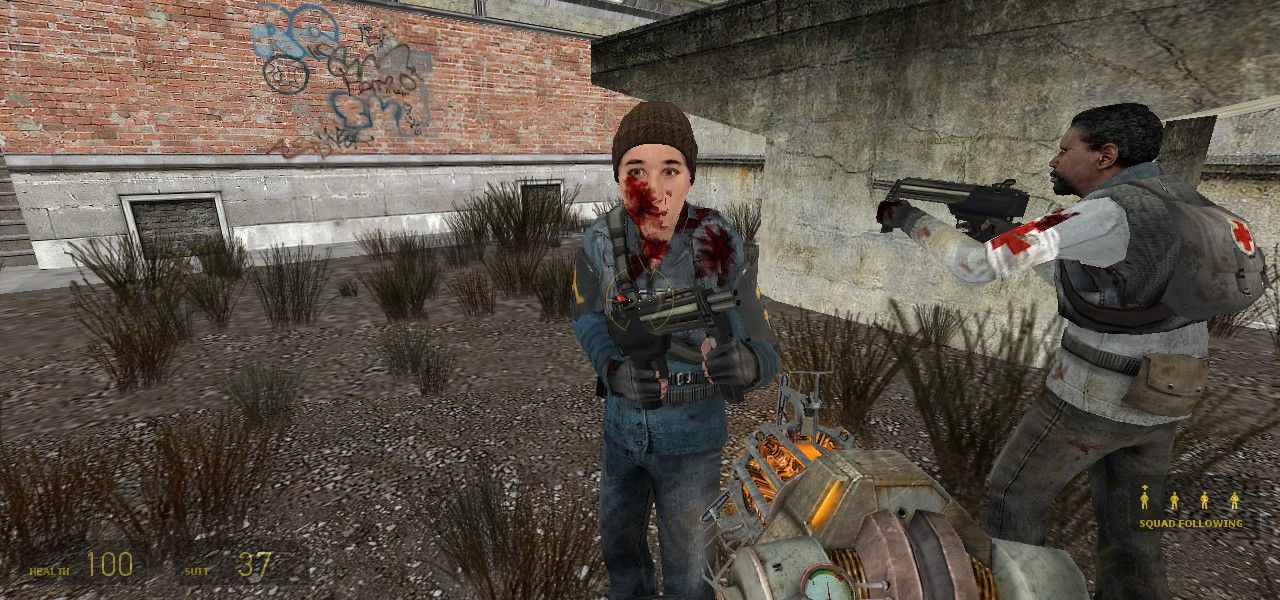 Half-Life 2 screenshot  | Video Game Screenshots | Half life