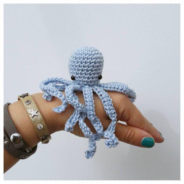 Haakpatroon Inktvis Babycape Crochet Modele Crochet Gratuit En