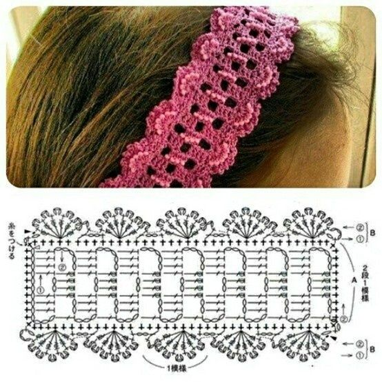 Haarband haken | haarband haken | Pinterest | Häckeln, Häkeln und Irisch