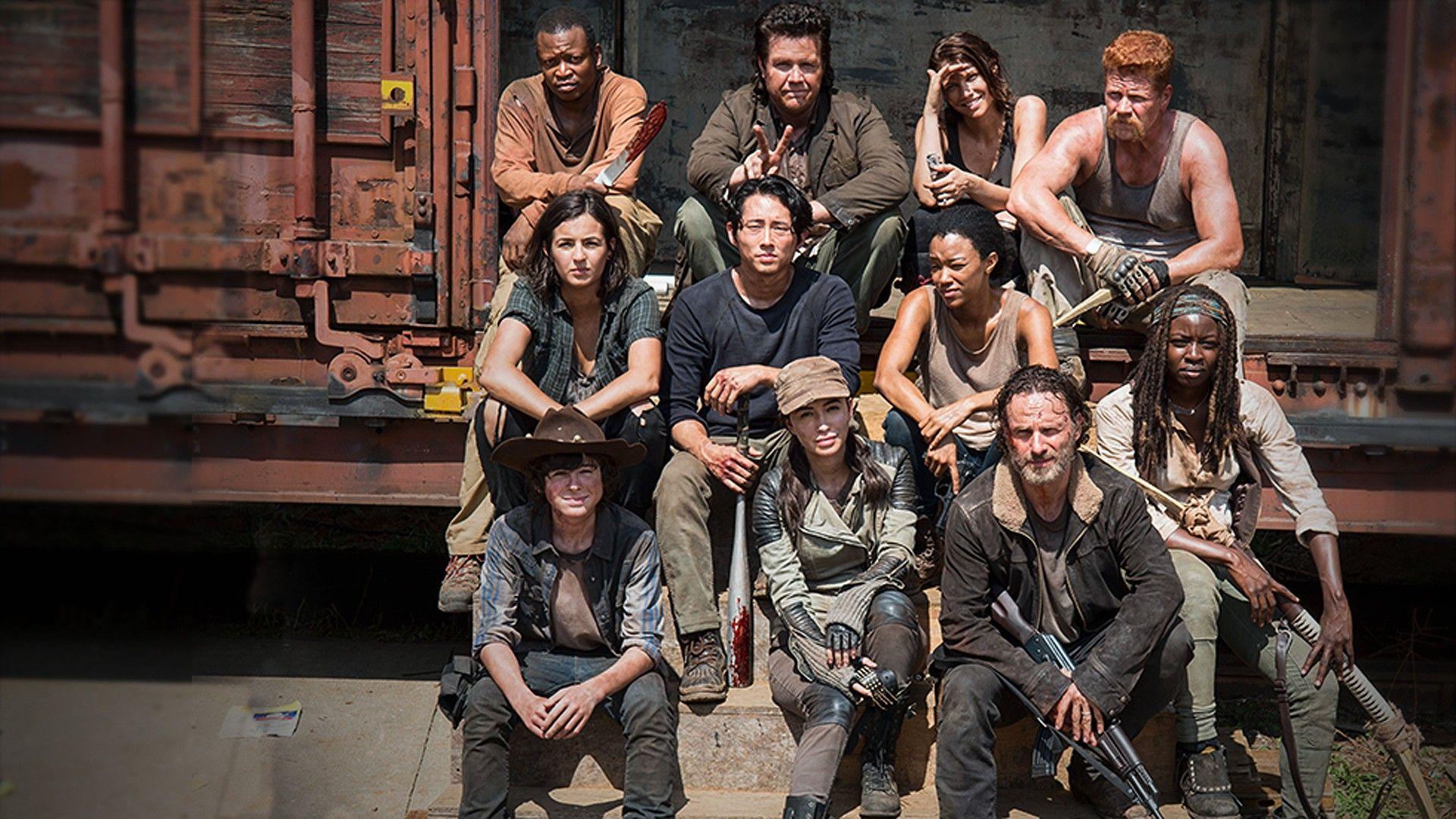 The Walking Dead Season 5 Cast Computer Wallpaper Http