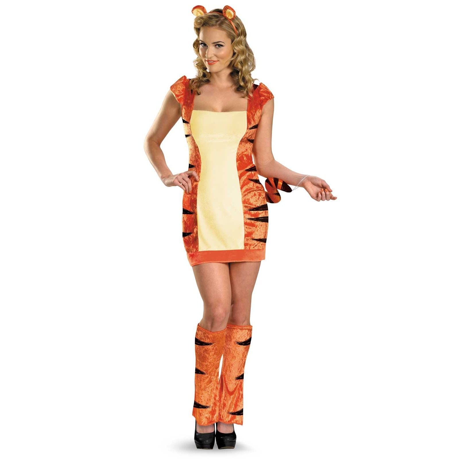 Urban Tiger Adult Costume | Costumes, Tigger costume and Halloween ...