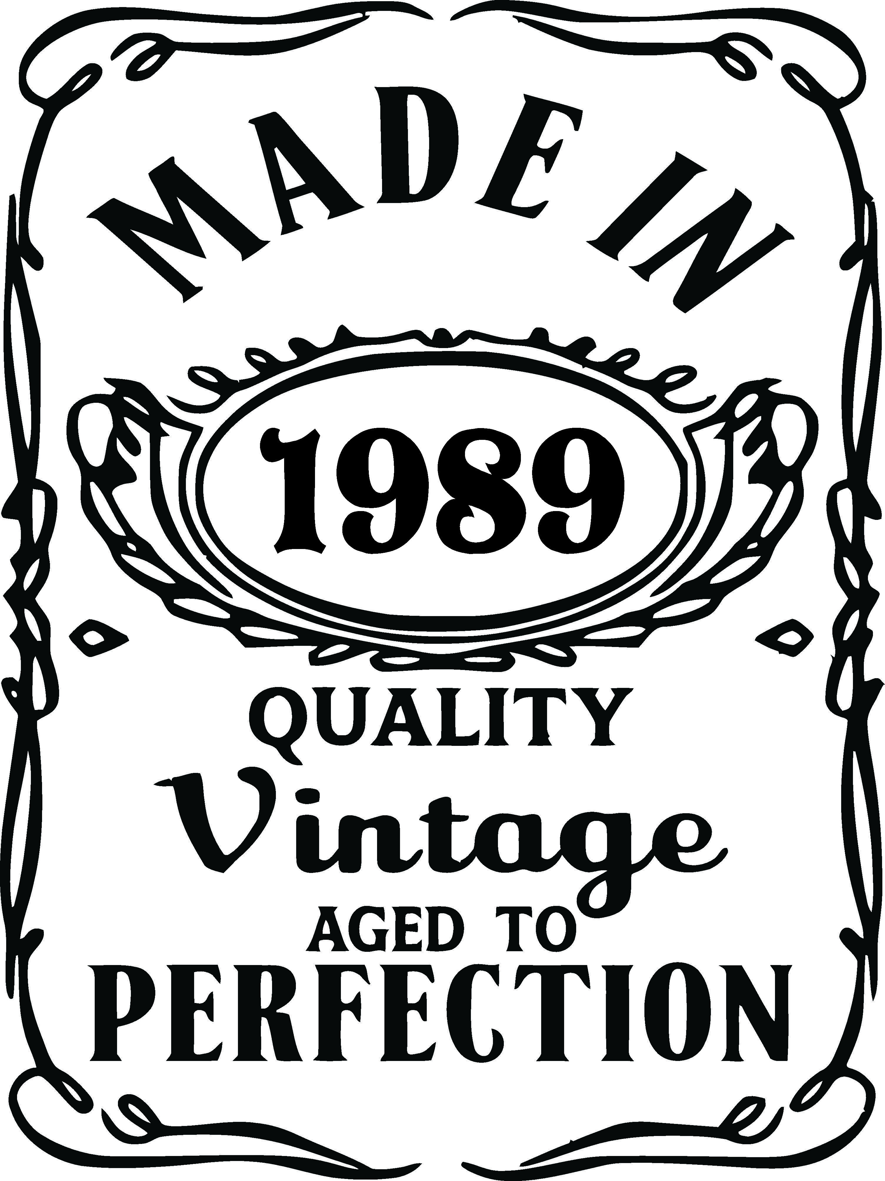 Made In Quality Vintage Aged To Perfection Sunshine
