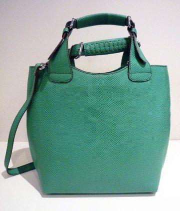 Barr Kelly Green Lizard Handbag