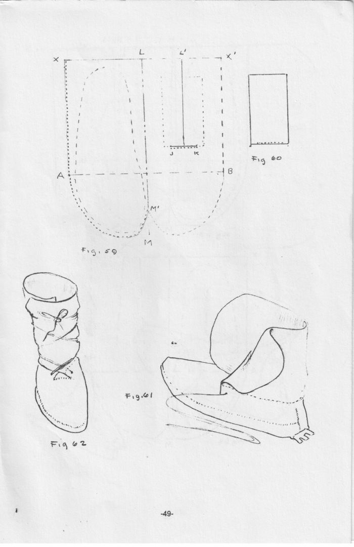 1c Tutorial How To Make The Side Seam Moccasin Boot Moccasin Boots Leather Moccasins Diy Leather Pattern Diy