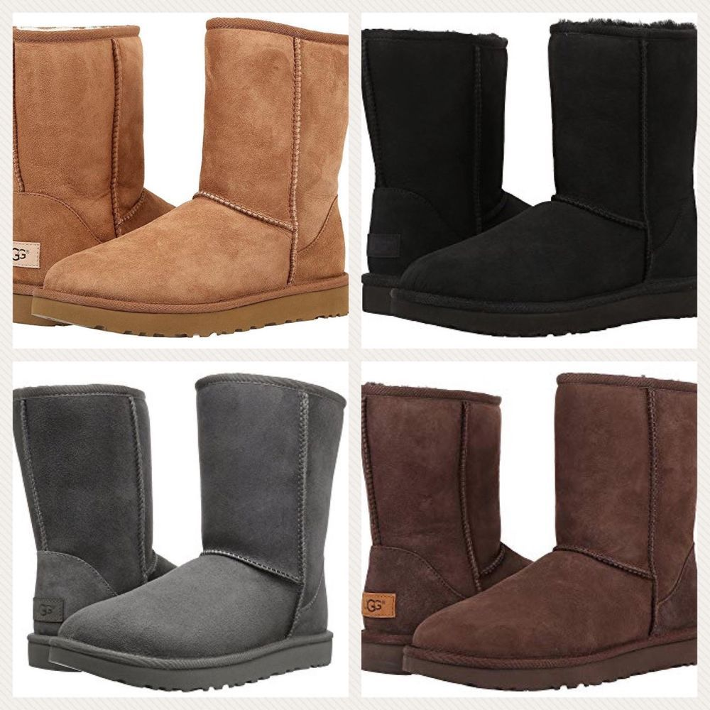 3541afdec017c NEW UGG Brand Women s Classic Short II Boots Black Chestnut Grey Navy  Chocolate  fashion  clothing  shoes  accessories  womensshoes  boots (ebay  link)