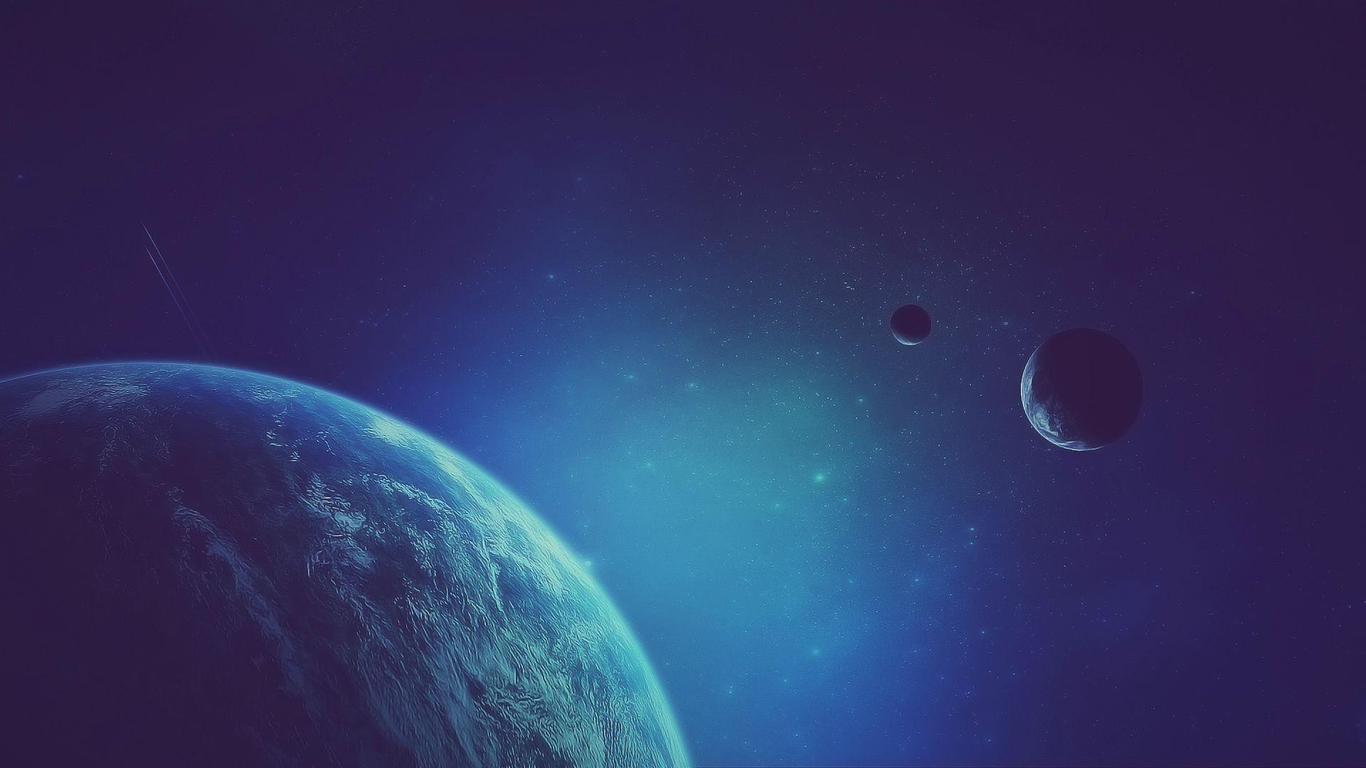 Fondo de pantalla espacio exterior