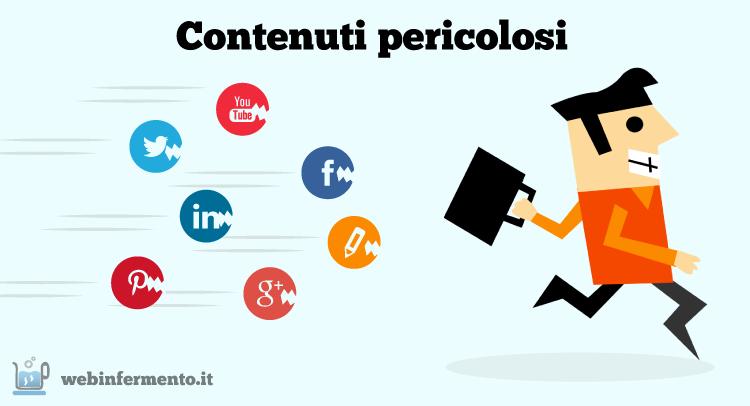 """Riconoscere una Content Strategy """"pericolosa"""", le 10 caratteristiche #contentmarketing #smm via @mariapiademarzo"""
