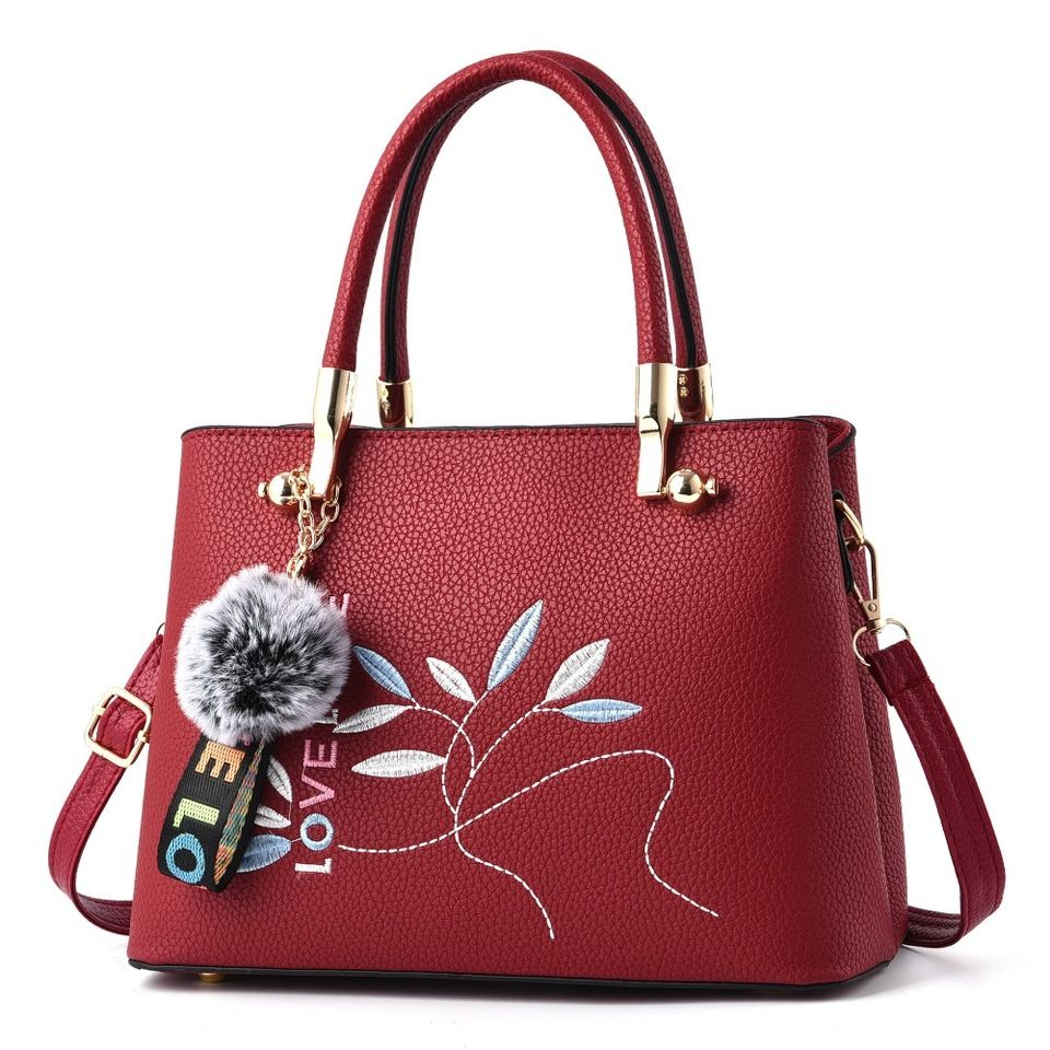 940e9c5de1 2018 Latest Designer PU import leather women bags ladies shoulder bag with  custom logo