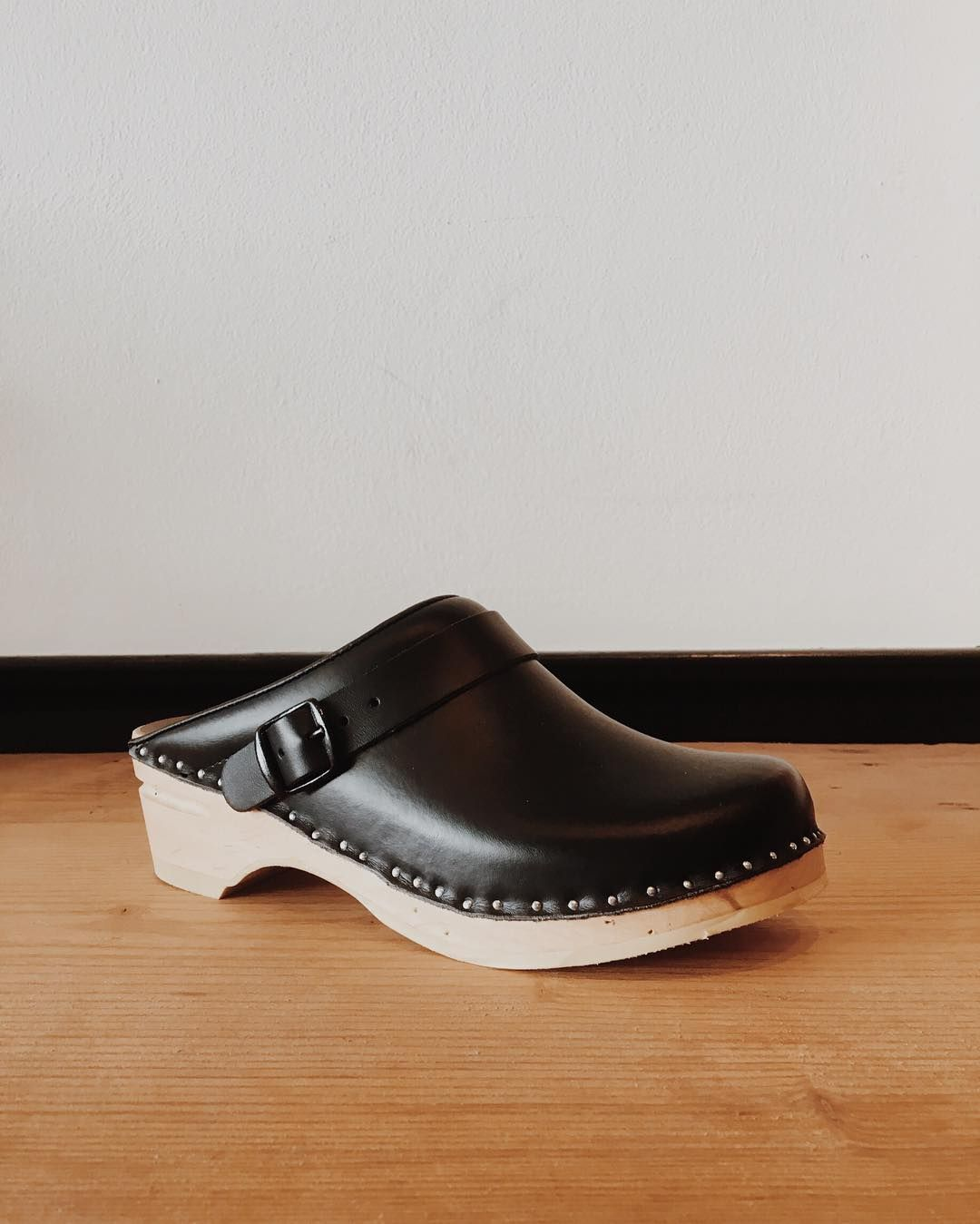 The same handcrafted clogs from over